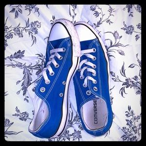 Royal Blue Converse size 9